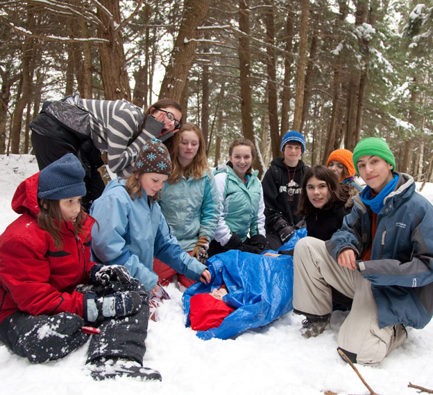 winter survival skills training